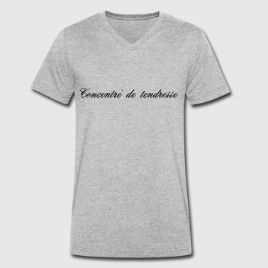 Tender CONCENTRATE OF TENDERNESS - Men's Organic V-Neck T-Shirt by Stanley & Stella