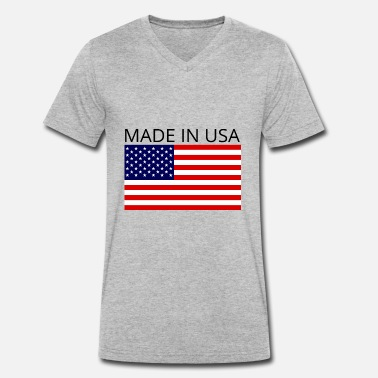 Made In Usa Made In USA - T-shirt bio col V Stanley & Stella Homme