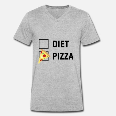 Rastittaa Pizza VS Diet Food Lover - Stanley & Stellan naisten luomupikeepaita