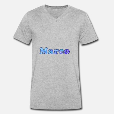 Marco Name: Marco - Men's Organic V-Neck T-Shirt by Stanley & Stella