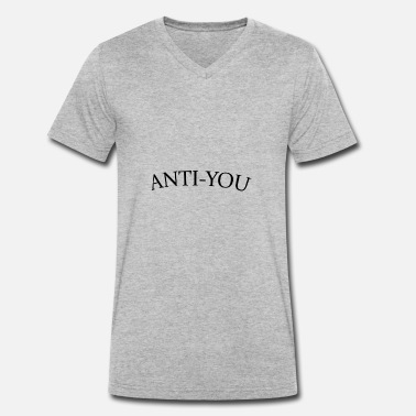 Anti ANTI-VOUS - T-shirt bio col V Stanley & Stella Homme