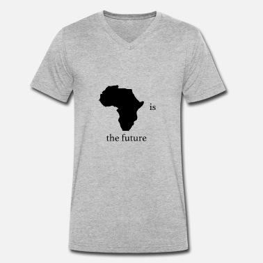 Peter Tosh africa is the future - Men's Organic V-Neck T-Shirt by Stanley & Stella