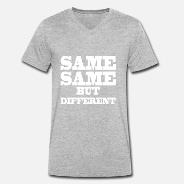 Same Same But Different Same Same but Different - Mannen bio T-shirt met V-hals van Stanley & Stella