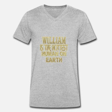 William William - T-shirt ecologica da uomo con scollo a V di Stanley & Stella