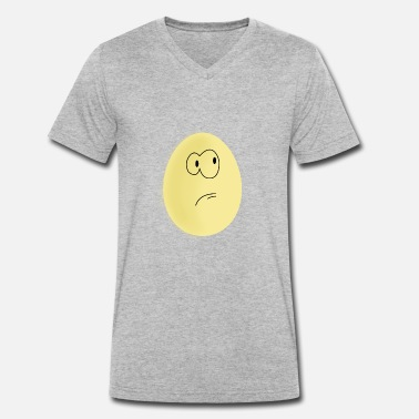 Eggs Egg easter egg Egg - Men's Organic V-Neck T-Shirt by Stanley & Stella