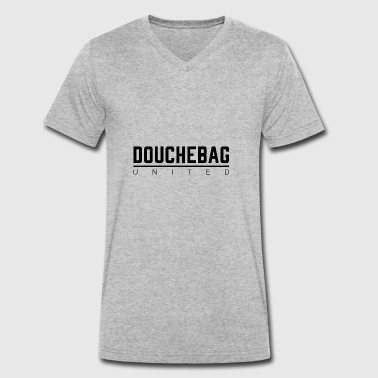 DOUCHEBAG UNITED - Men's Organic V-Neck T-Shirt by Stanley & Stella