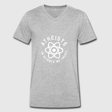 atheism - Men's Organic V-Neck T-Shirt by Stanley & Stella