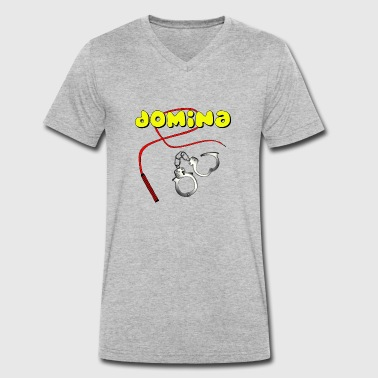 Domina Domina - Men's Organic V-Neck T-Shirt by Stanley & Stella