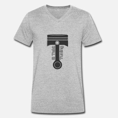 Tuning Tuning - Men's Organic V-Neck T-Shirt by Stanley & Stella