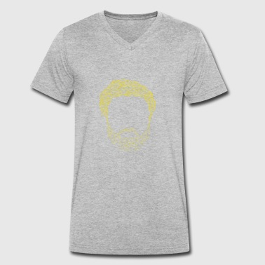 Jorge Jorg's Beard - Men's Organic V-Neck T-Shirt by Stanley & Stella
