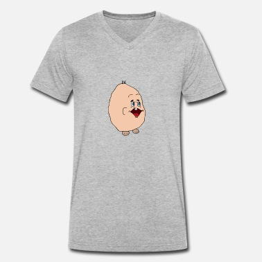 Hank hank animal - Men's Organic V-Neck T-Shirt by Stanley & Stella