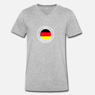 Danube VILSHOFEN ON THE DANUBE - Men's Organic V-Neck T-Shirt by Stanley & Stella