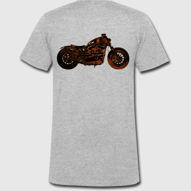 Bike Roadster - Men's Organic V-Neck T-Shirt by Stanley & Stella