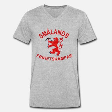 Freedom Fighters Smålands freedom fighters - Men's Organic V-Neck T-Shirt by Stanley & Stella