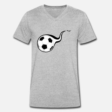 Football american football soccer football ball goalkeeper1 - Men's Organic V-Neck T-Shirt