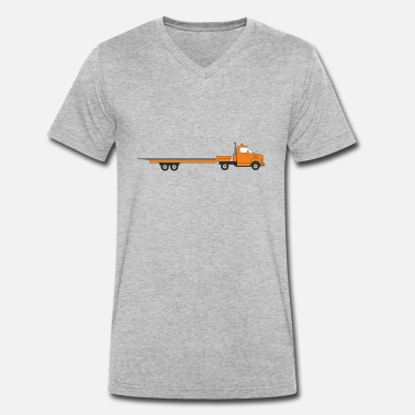 Transport transporter - Men's Organic V-Neck T-Shirt