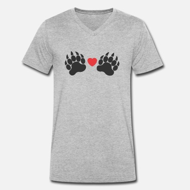 Paw Paws paws - Men's Organic V-Neck T-Shirt