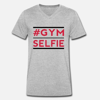Addicted gym s - Men's Organic V-Neck T-Shirt