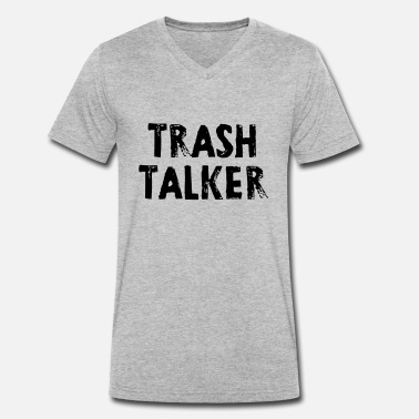 Volley VolleyballFREAK Trash Talker MP - Männer Bio T-Shirt mit V-Ausschnitt