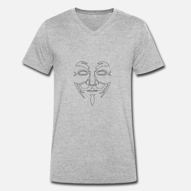 Anonymus anonyme - T-shirt bio col V Stanley & Stella Homme