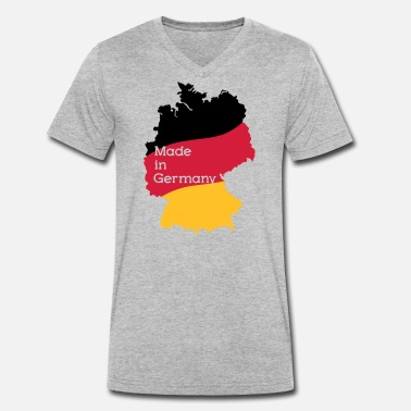 Made In Germany Made in Germany - Men's Organic V-Neck T-Shirt