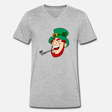 Lucky Charms lucky charm - Men's Organic V-Neck T-Shirt by Stanley & Stella