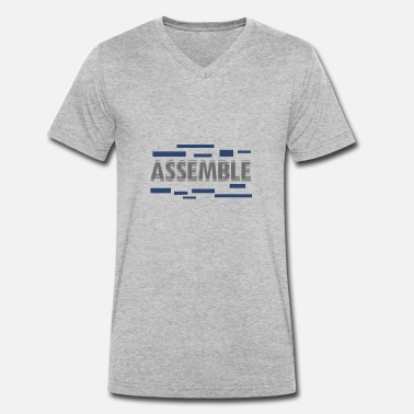 Assembler Assemble - Men's Organic V-Neck T-Shirt by Stanley & Stella