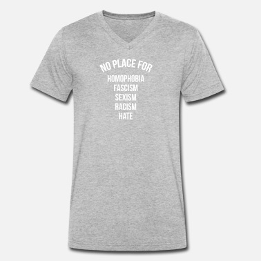 Placement Pas de place - T-shirt bio col V Homme