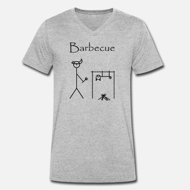 Bbq BBQ - Men's Organic V-Neck T-Shirt