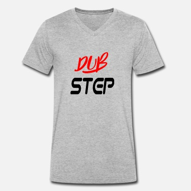 Dub dub step - Men's Organic V-Neck T-Shirt