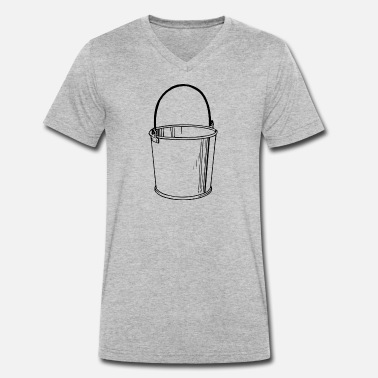 Bucket bucket - Men's Organic V-Neck T-Shirt