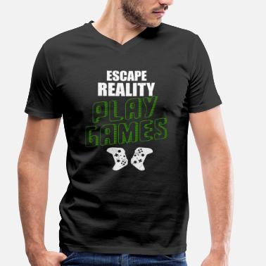 Escape Game ESCAPE REALITY PLAY GAMES - T-shirt bio col V Stanley & Stella Homme