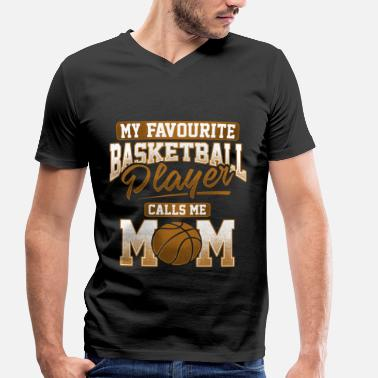 Player Favourite Basketball Player - T-shirt ecologica da uomo con scollo a V di Stanley & Stella