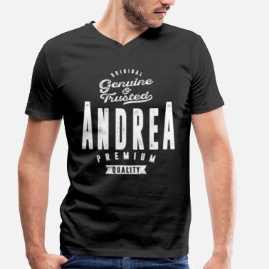 Andreas ANDREA - T-shirt bio col V Stanley & Stella Homme