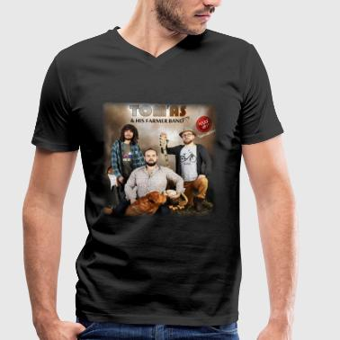 Tom'As & His Farmer Band - Poule Up - Visuel Album - T-shirt bio col V Stanley & Stella Homme