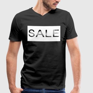 Sales Sale - be in the sales! - Men's Organic V-Neck T-Shirt by Stanley & Stella