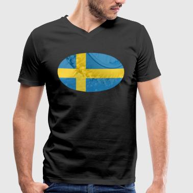 Ice Speedway Ice Speedway tires Sweden - Men's Organic V-Neck T-Shirt by Stanley & Stella