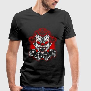 Football - clown Club - logo- - T-shirt bio col V Stanley & Stella Homme