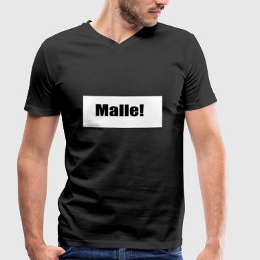 Malle Malle - Men's Organic V-Neck T-Shirt by Stanley & Stella