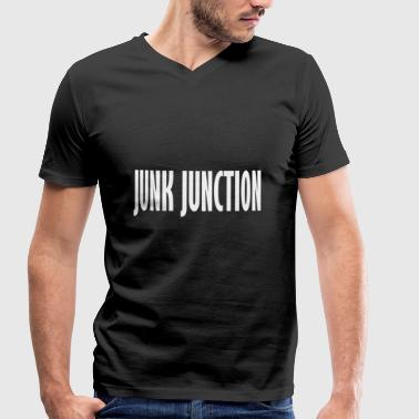 Junk junk junction - Men's Organic V-Neck T-Shirt by Stanley & Stella