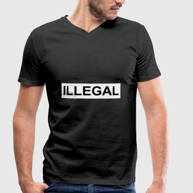 Illegal - Men's Organic V-Neck T-Shirt by Stanley & Stella
