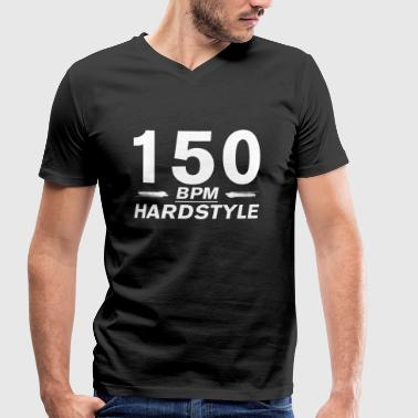 150 Bpm Hardstyle 150 BPM - Men's Organic V-Neck T-Shirt by Stanley & Stella