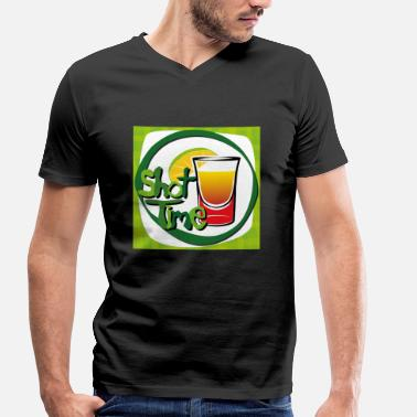 Drink Cocktails Cocktail, whiskey, drinks - Men's Organic V-Neck T-Shirt by Stanley & Stella