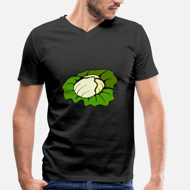 Cabbage cabbage - Men's Organic V-Neck T-Shirt by Stanley & Stella