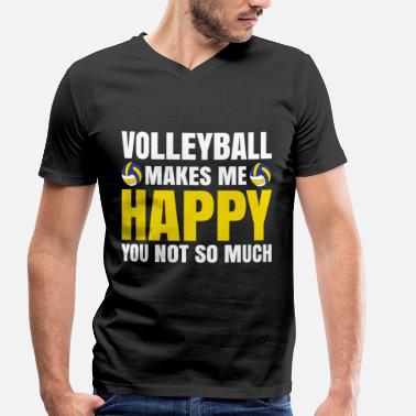 Vball volleyball - Men's Organic V-Neck T-Shirt by Stanley & Stella