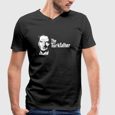The Turkfather - Mannen bio T-shirt met V-hals van Stanley & Stella