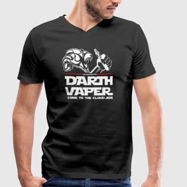 Mute! E cigarette! Vape! - Men's Organic V-Neck T-Shirt by Stanley & Stella
