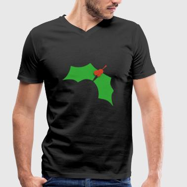 Mistletoe mistletoe - Men's Organic V-Neck T-Shirt by Stanley & Stella