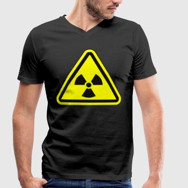 Fallout Rayonnement Atome Apocalypse Fallout - T-shirt bio col V Stanley & Stella Homme