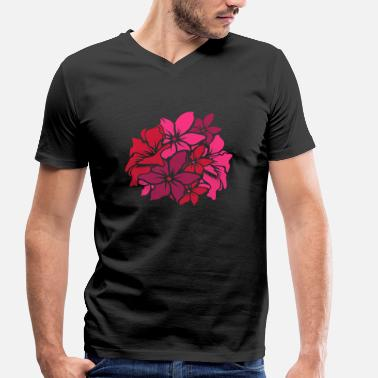 Bouquet Of Flowers a bouquet of flowers - Men's Organic V-Neck T-Shirt by Stanley & Stella